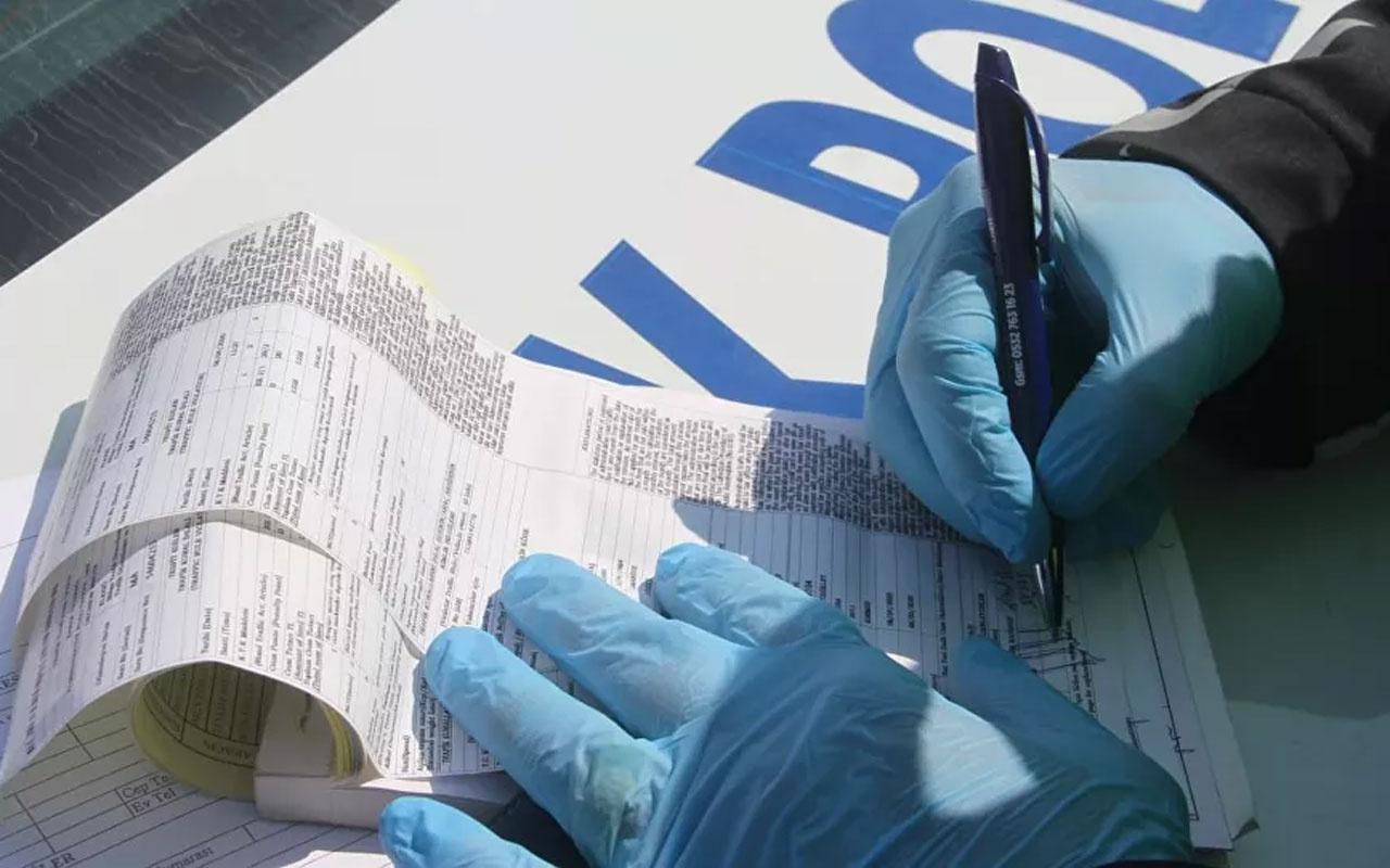 Kısıtlamasına uymayan 422 kişiye toplam 596 bin 887 lira para cezası