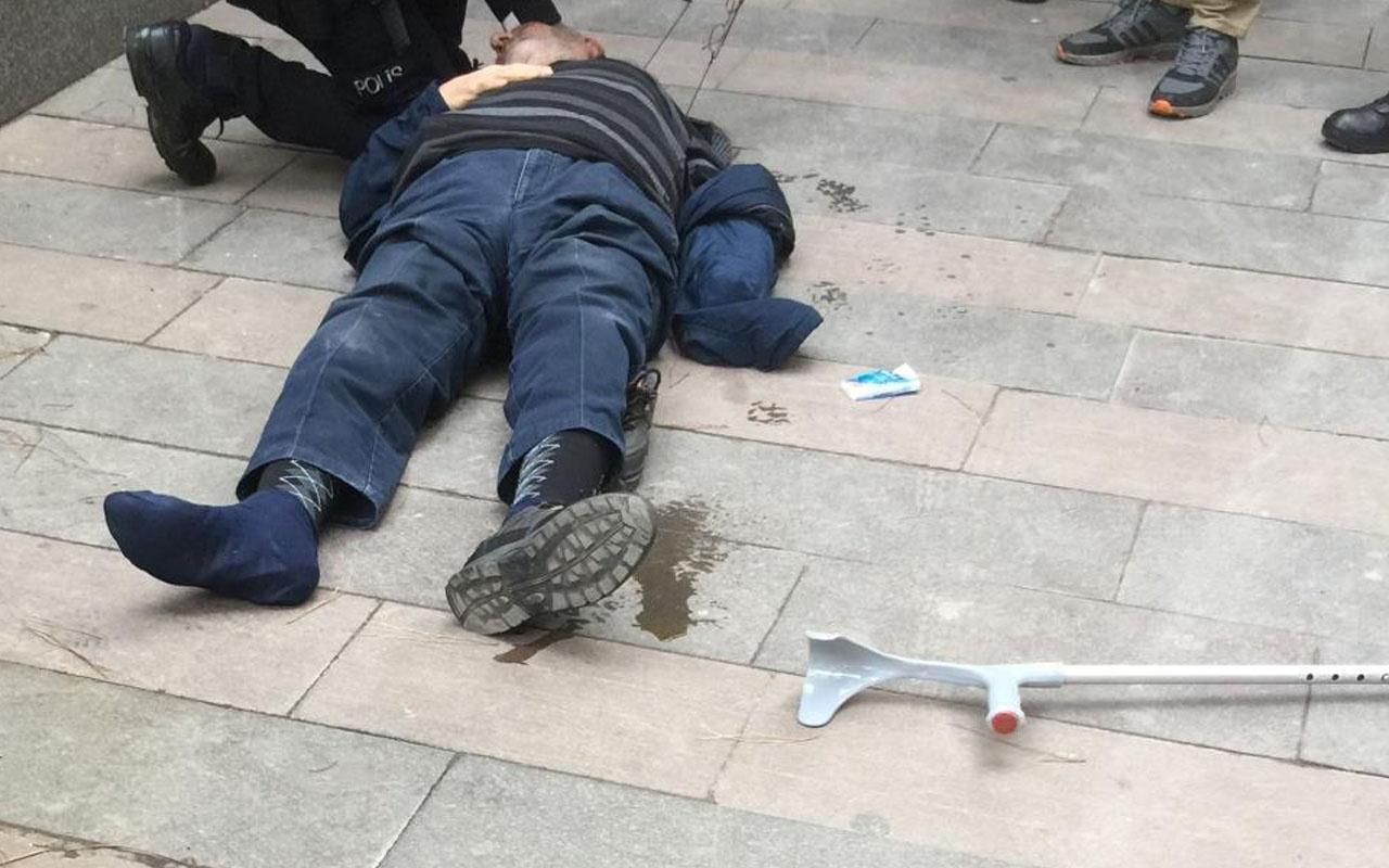Manisa'da sokakta yürürken bayılan yaşlı adam hastanede öldü