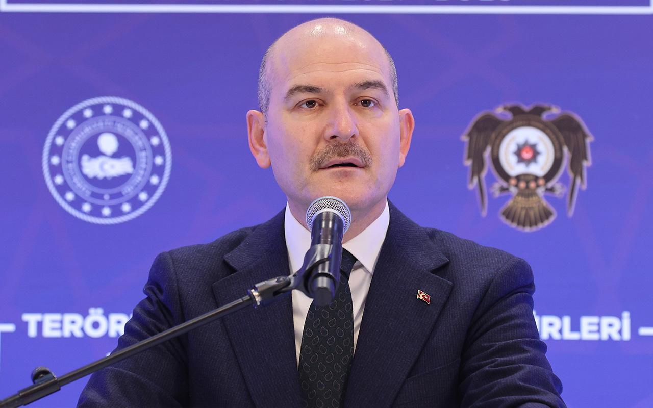 Süleyman Soylu: Bu sabah bir terör eylemini engelledik