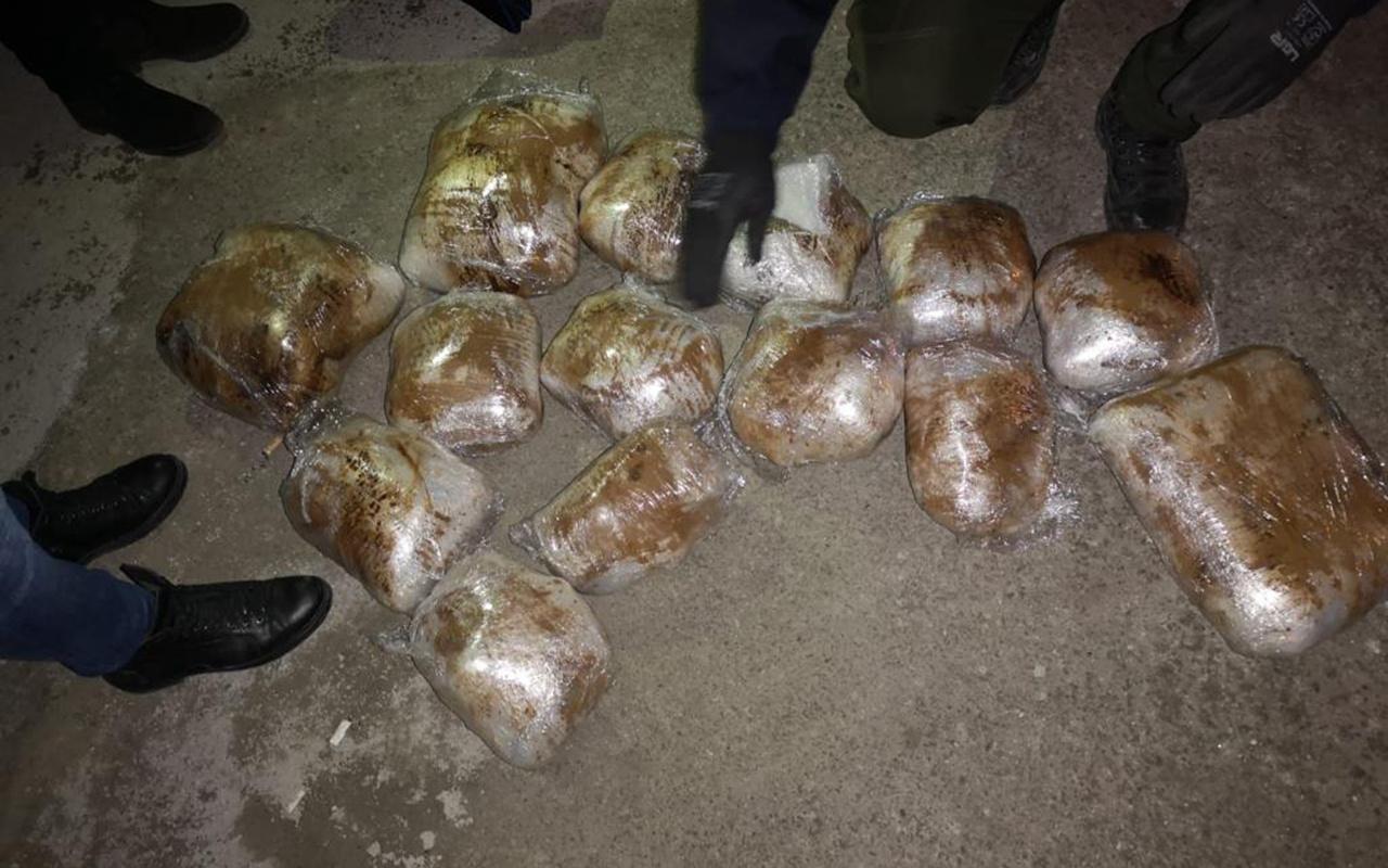 Malatya'da 22 kilo 500 gram esrar ele geçirildi