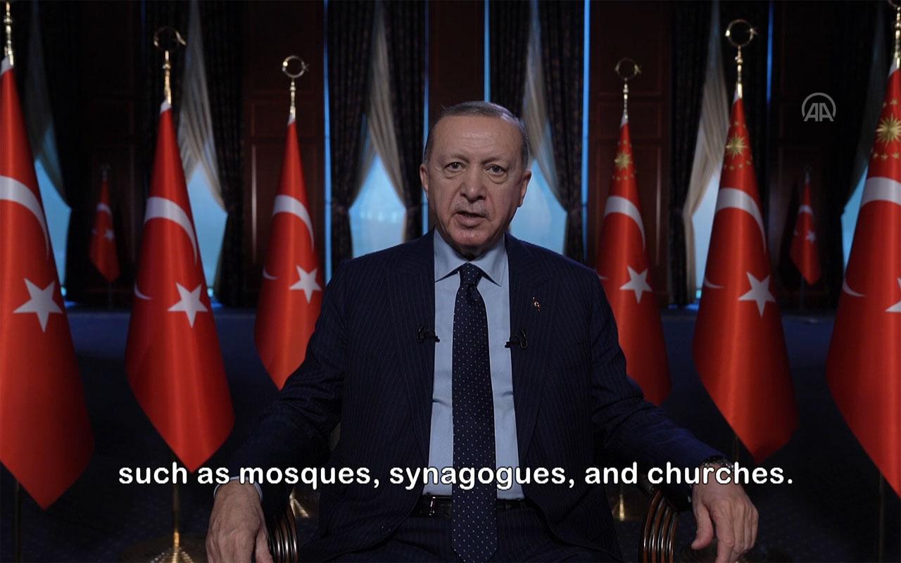 Erdoğan'dan 'Holokost' çağrısı: Uluslararası toplum harekete geçmeli