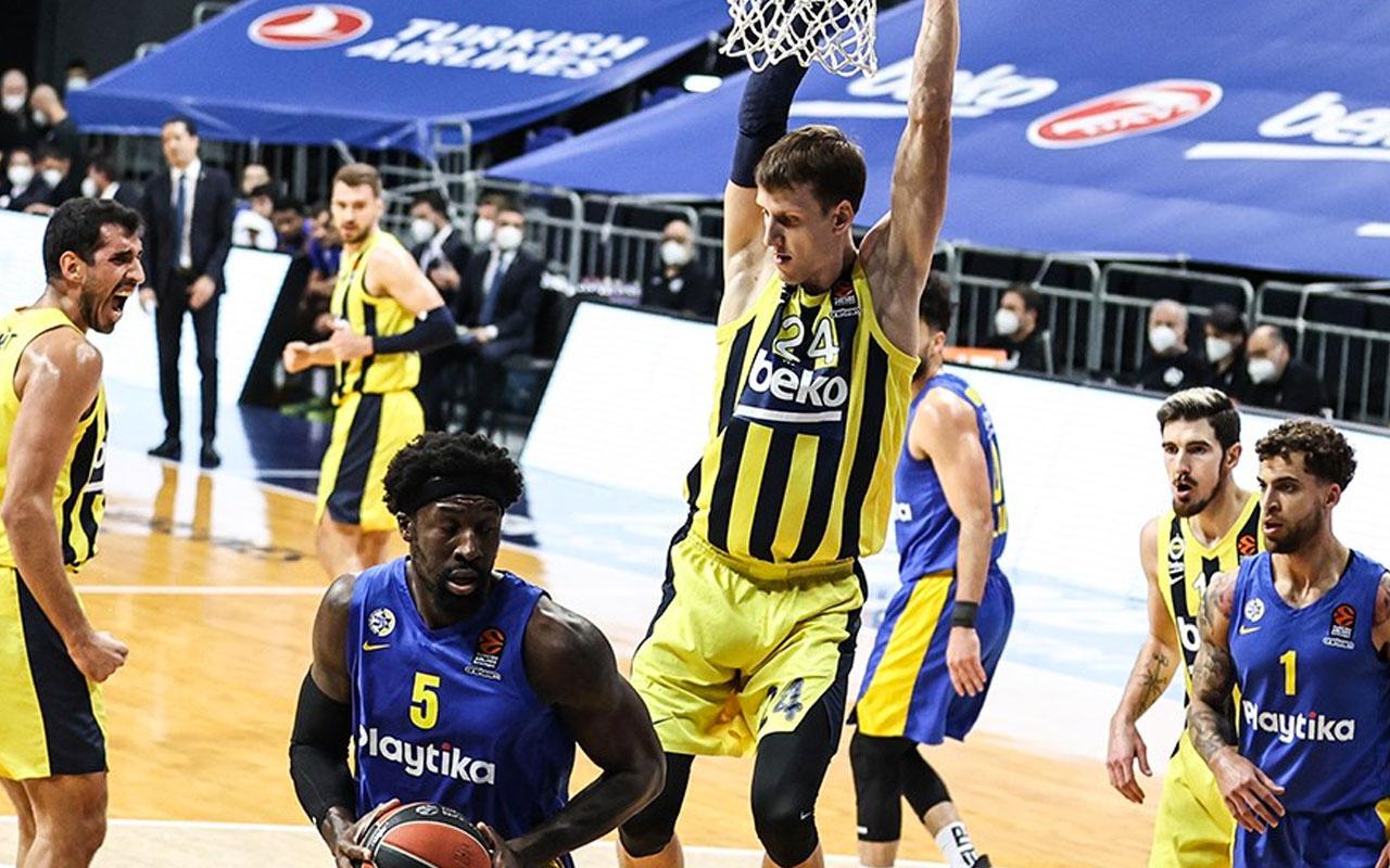 Fenerbahçe Beko Maccabi'yi devirdi 7'de 7 yaptı