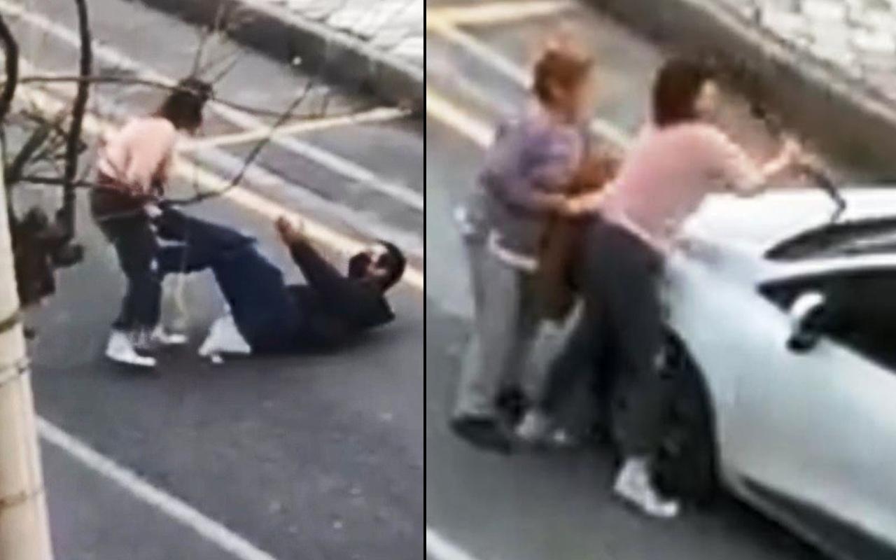 Aydın'da genç kadın deliye döndü! Elinde bıçakla terör estirdi