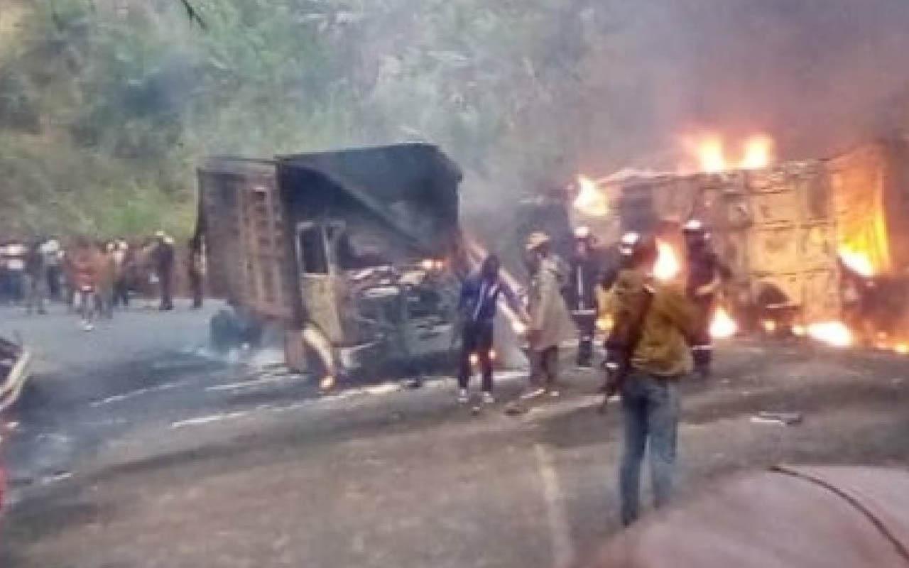 Kamerun'da trafik kazasında korkunç bilanço: 53 kişi öldü