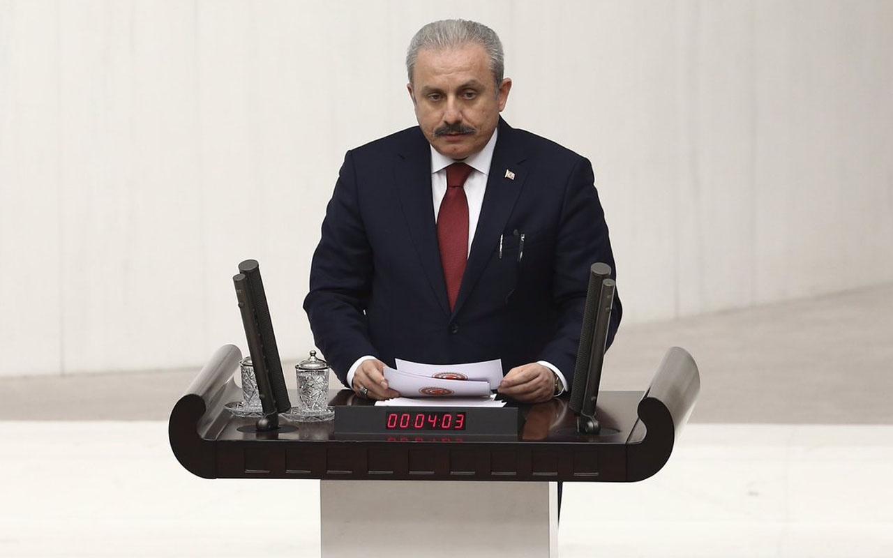 TBMM Başkanı Mustafa Şentop yalanladı: Külliyen uydurma ve asılsızdır