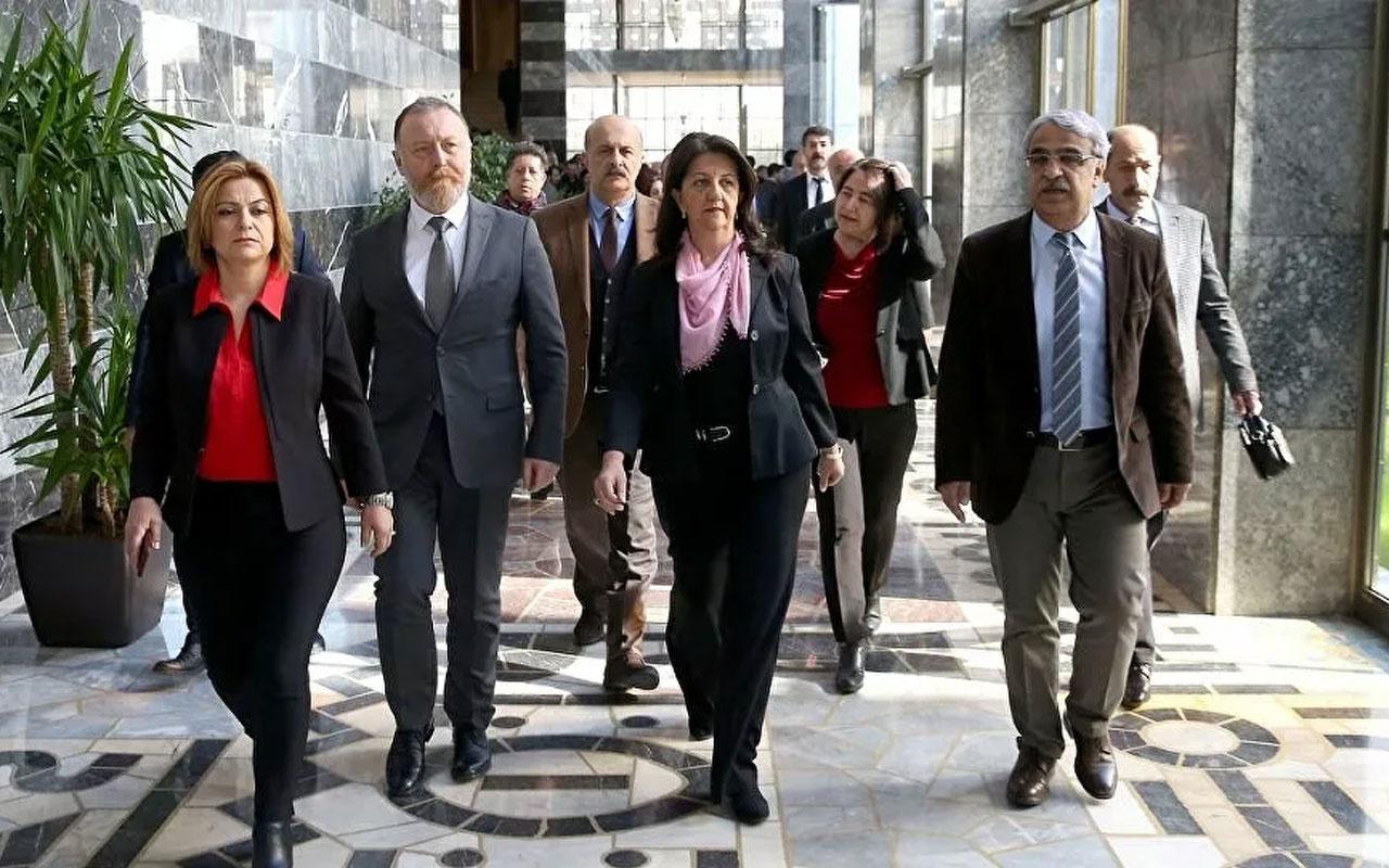 HDP muhalefet partilerine gidiyor! İlk görüşme Saadet Partisi'yle
