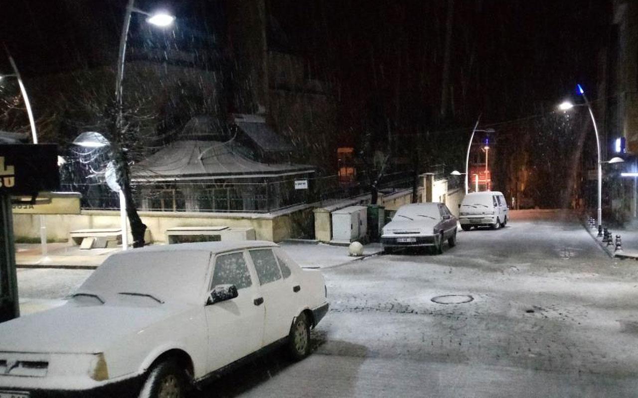 Meteoroloji uyarmıştı kar İstanbul'un kapısına dayandı