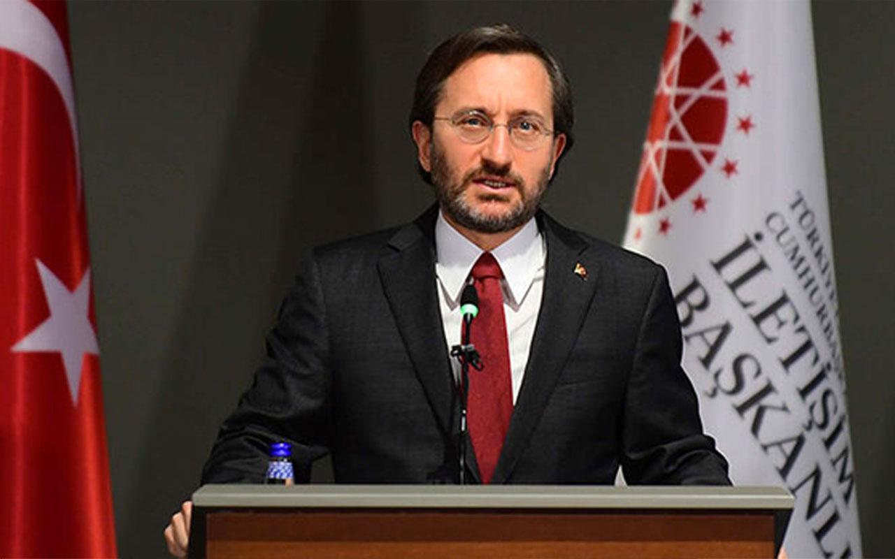 Fahrettin Altun'dan 'militan' tepkisi: Bu cumhurbaşkanımıza sistematik saldırı