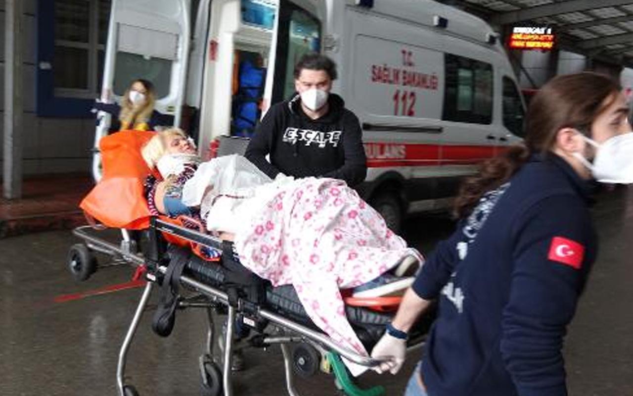 Bursa'da eşinin evi terk etmesine sinirlendi kayınvalidesini bıçakladı!