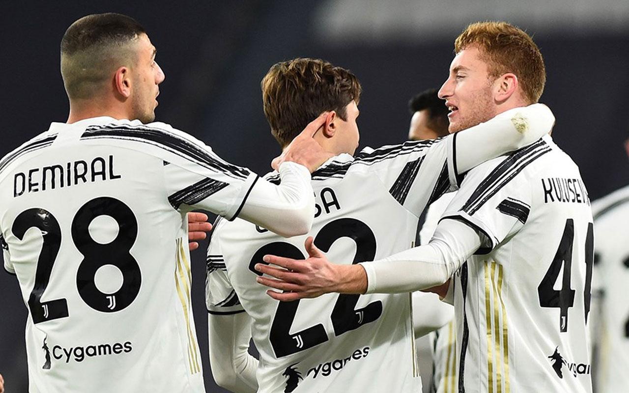 Juventus güle oynaya yarı finale yükseldi