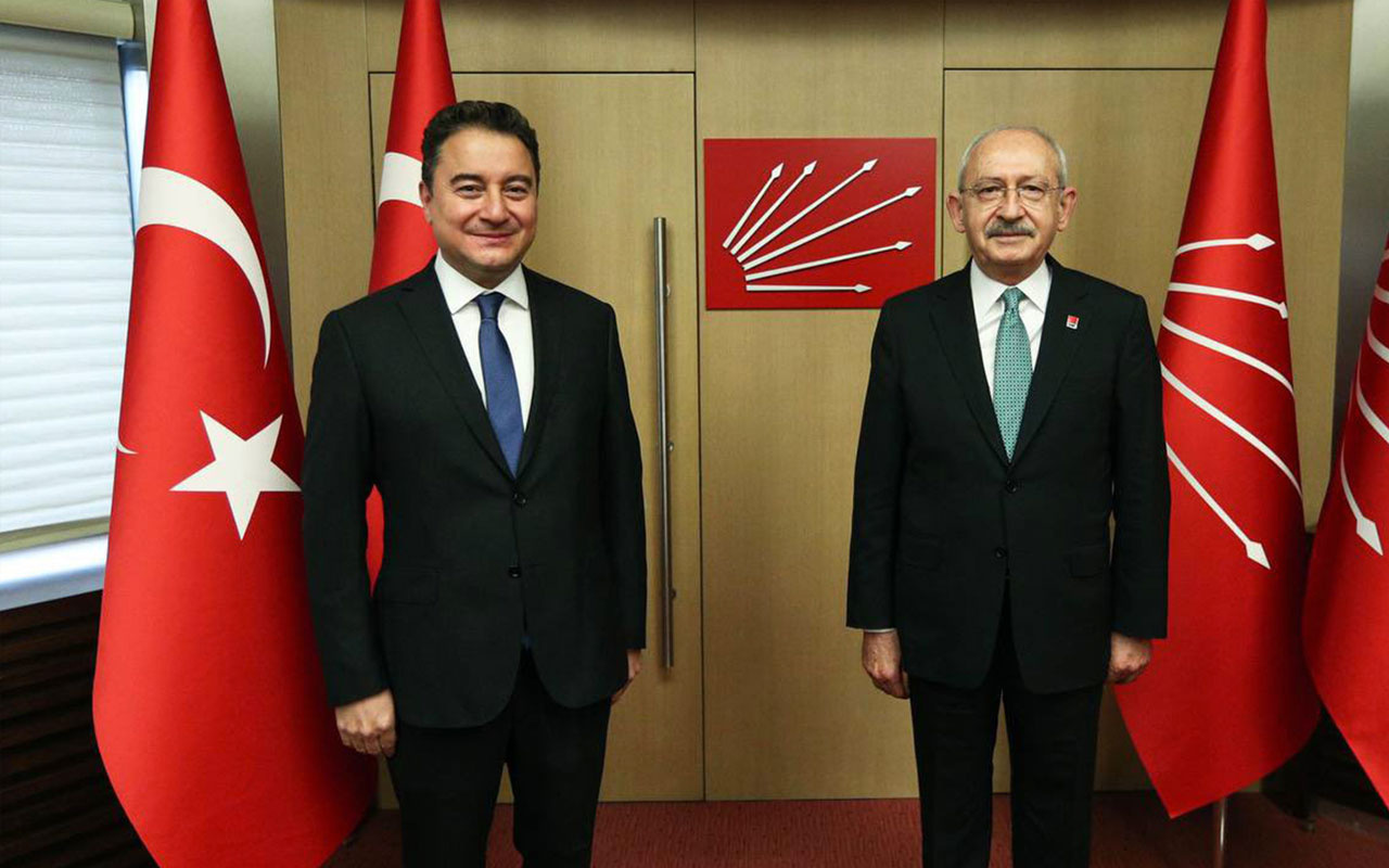 Kemal Kılıçdaroğlu ve Ali Babacan'dan ortak basın açıklaması