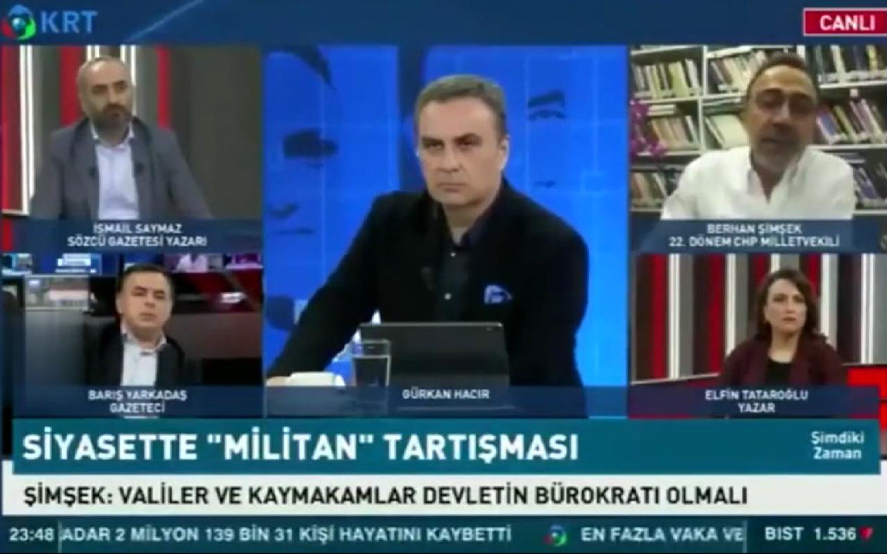 CHP'li Berhan Şimşek'in 'cuma namazı' sözleri alay konusu oldu! 'Allah kabul etsin'