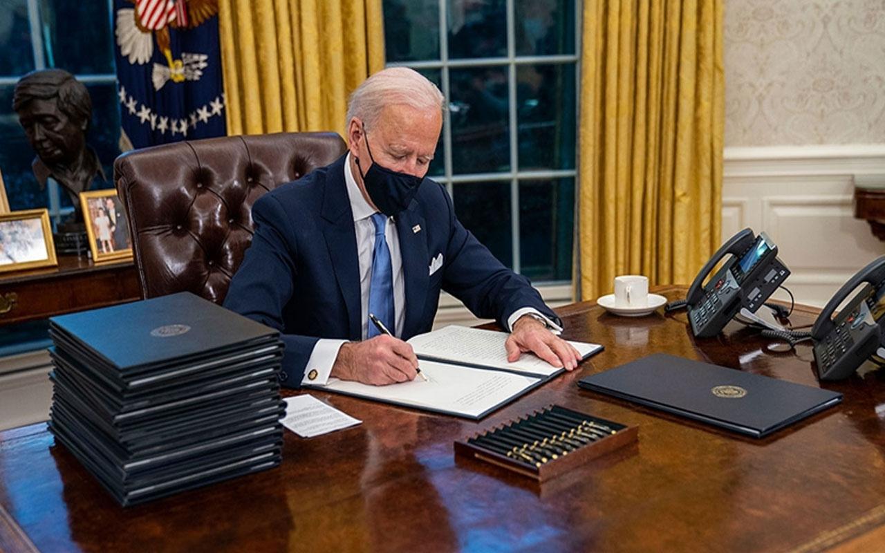 ABD'nin 46. Başkanı Joe Biden görevdeki ilk haftasında 43 resmi karara imza attı