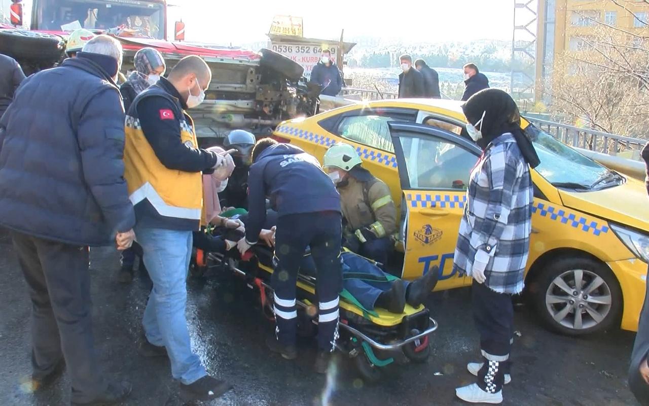 Kartal'da feci kaza ; 1 ölü