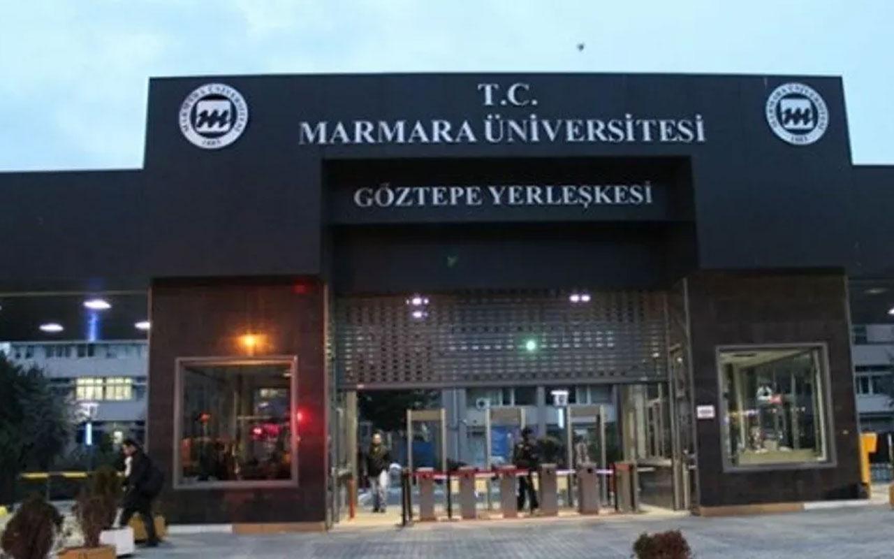 """Marmara Üniversitesi'nde soruya """"Tayyip'e sor"""" şıkkı koyan öğretim görevlisine soruşturma"""