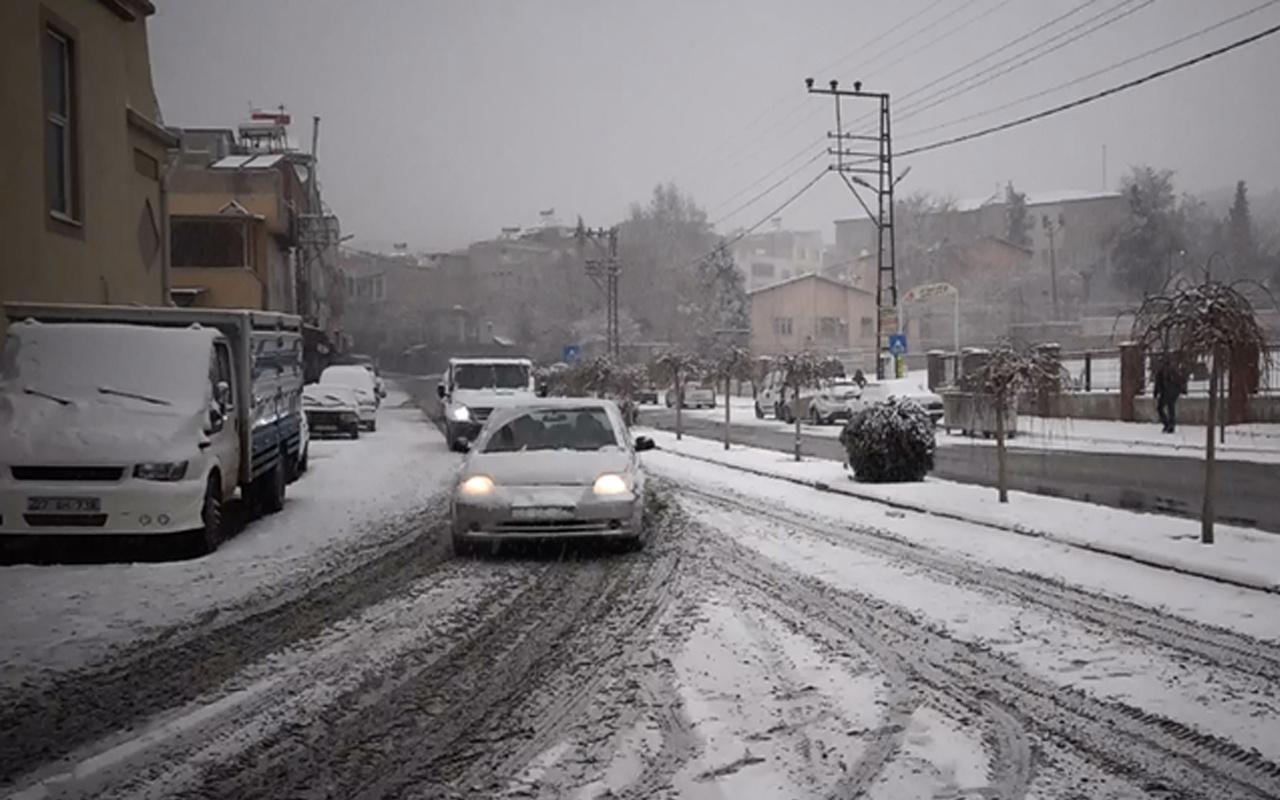 Eskişehir hava durumu saatlik rapor kar başladı
