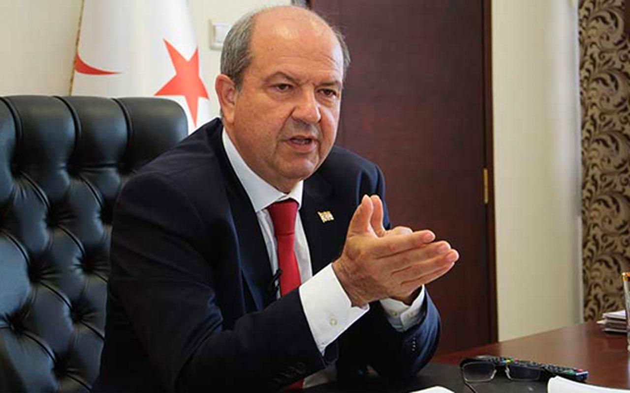 KKTC Cumhurbaşkanı Tatar Mustafa Akıncı sert çıktı! Sen kimin papağanısın?