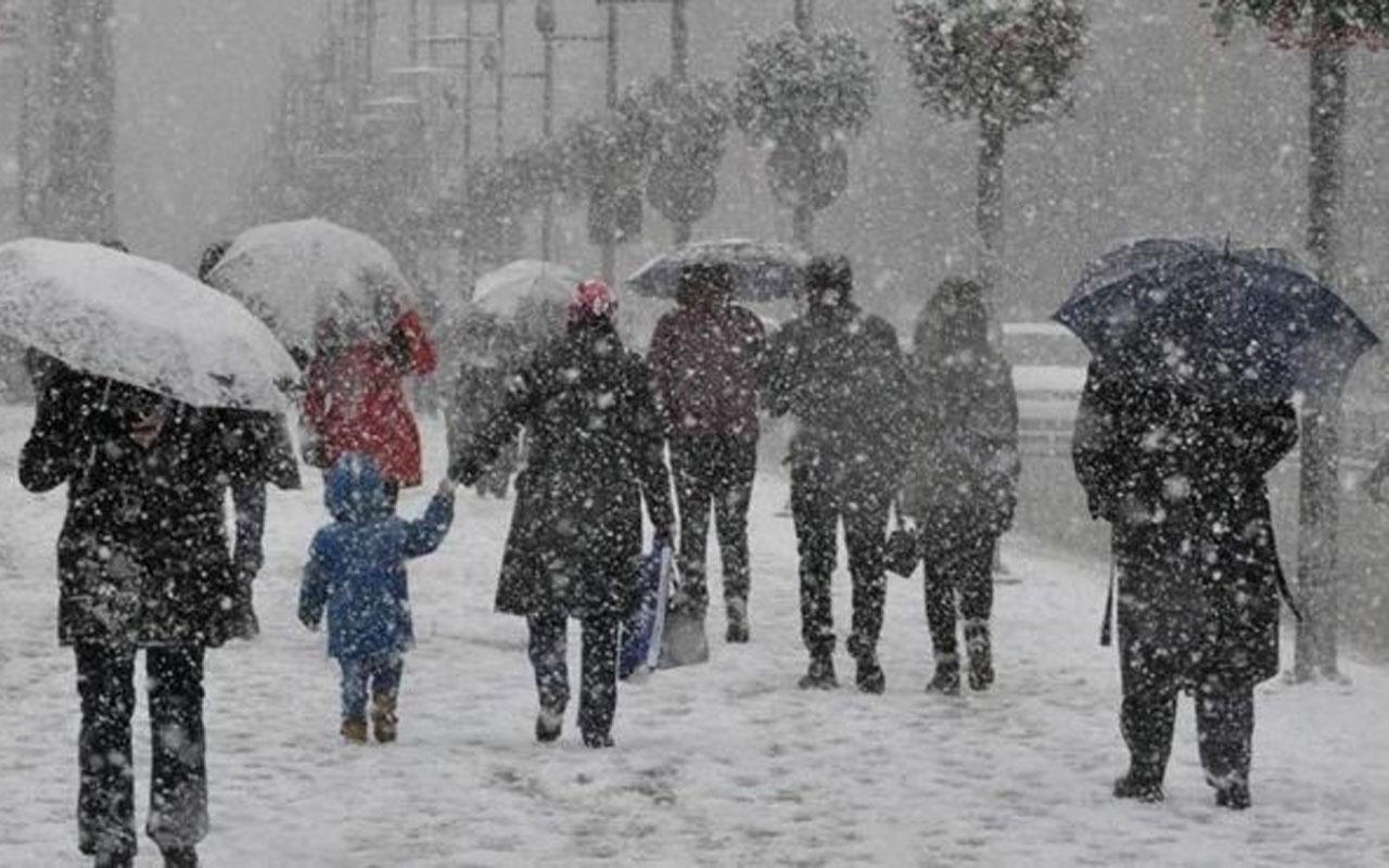 Meteoroloji İstanbul için kar yağışı tahminini değiştirdi