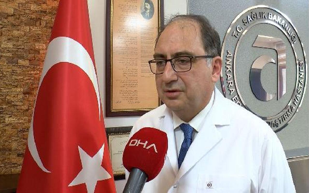 Başhekim Rahmi Kılıç açıkladı! Türkiye'nin ilk pandemi hastanesinde hasta sayısında büyük düşüş