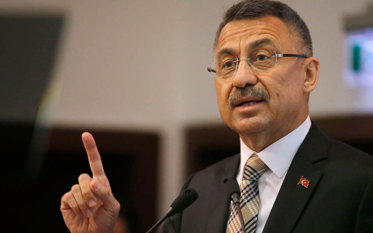 Cumhurbaşkanı Yardımcısı Fuat Oktay'dan Boğaziçi'ndeki 'Kabe' skandalına ilişkin açıklama