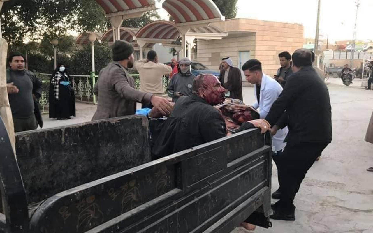 Irak'ta korkutan patlama: 20'den fazla kişi yaralandı