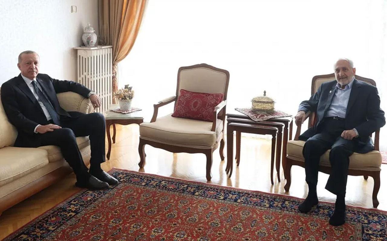 Başkan Erdoğan'la görüşen SP'li Asiltürk'ten suçlamalara cevap geldi