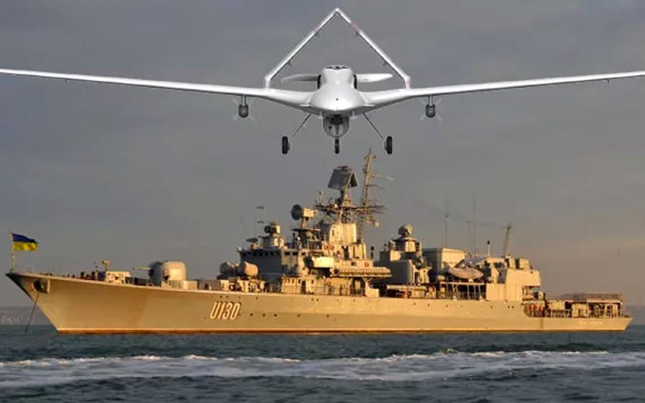 Ukrayna'dan donanmaya Türk SİHA'sı takviyesi! Bayraktar TB2 alacağız