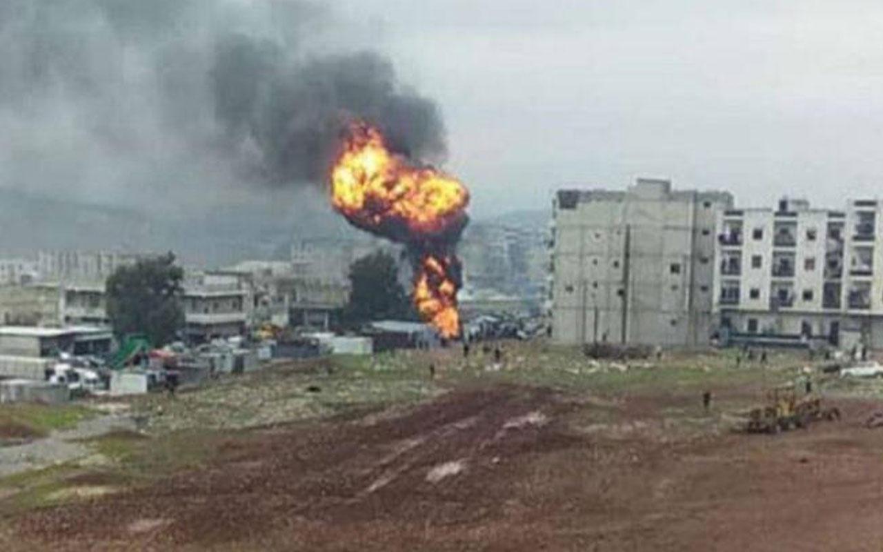 PKK'lı teröristler Afrin'de yine sivilleri hedef aldı!