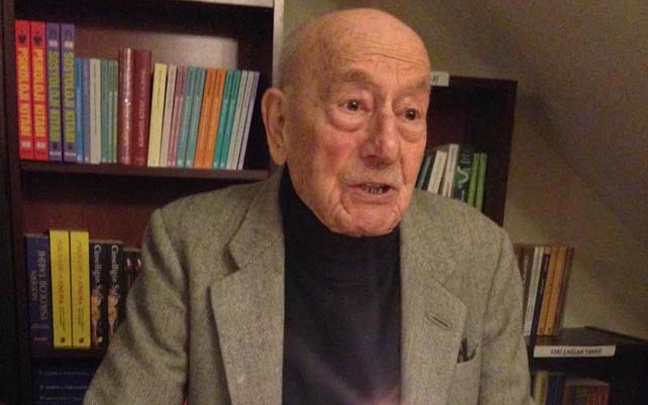 Eski Bakan Cahit Kayra 104 yaşında yaşamını yitirdi