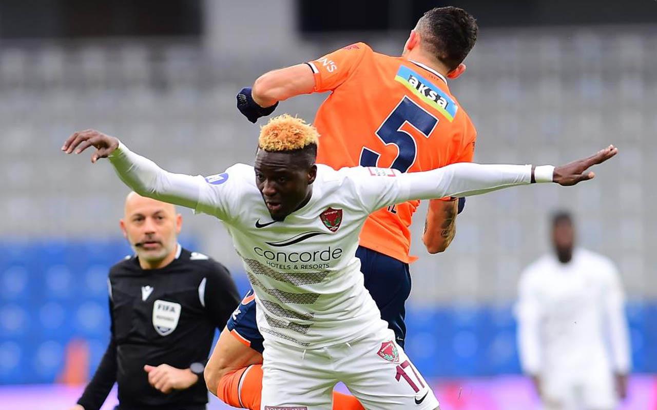 Hatayspor'dan 5 gole 3 puan! Başakşehir evinde hezimete uğradı