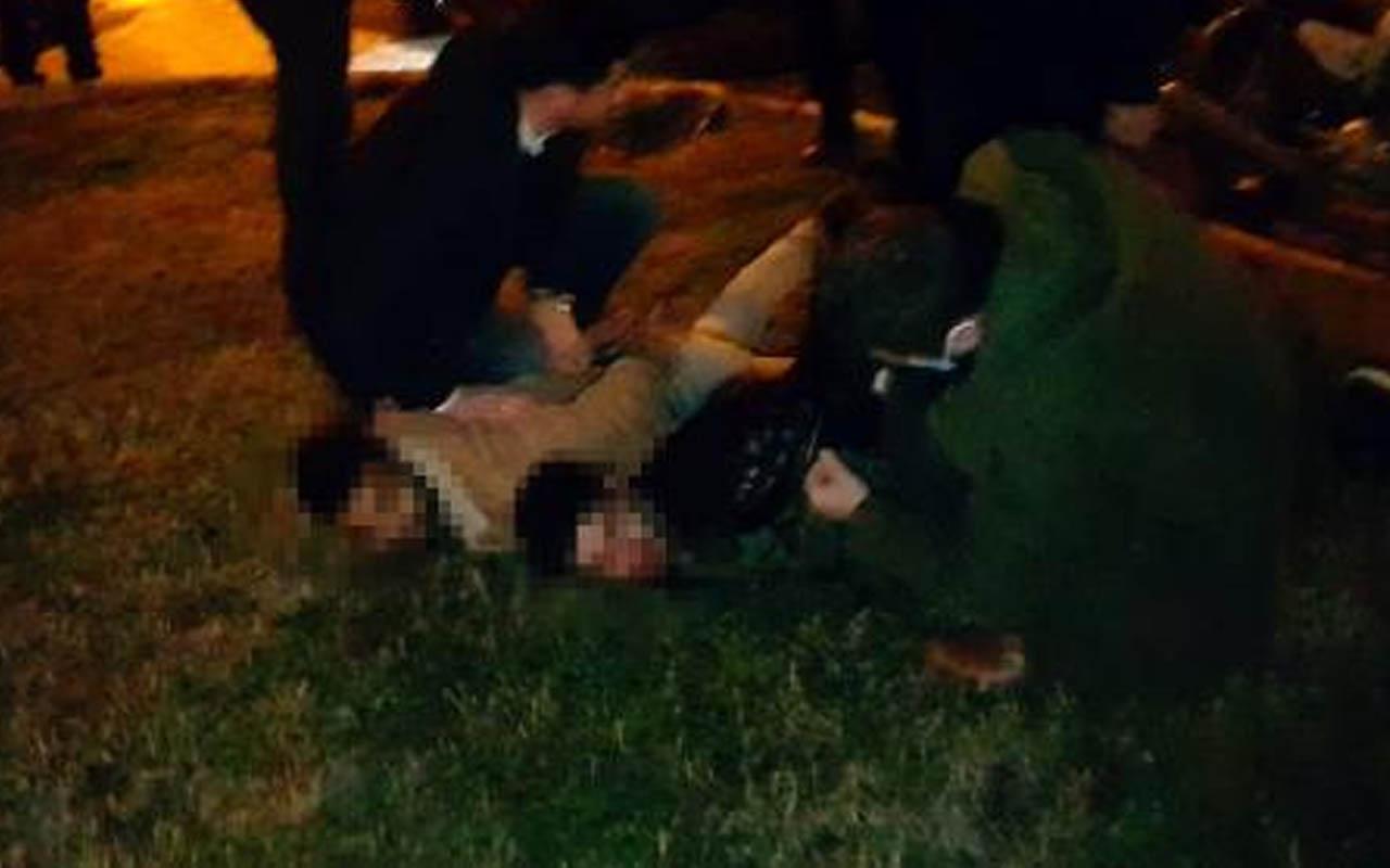 Edirne'de 7 kilometrelik kovalamaca! Polis yakalayıp ters kelepçeyle gözaltına aldı
