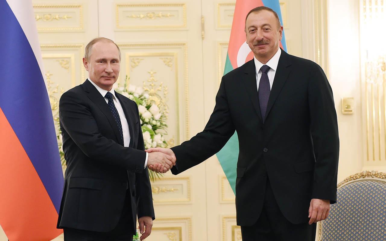 Vladimir Putin ve İlham Aliyev'den Türk-Rus Ortak Gözlem Merkezi'ne dair görüşme