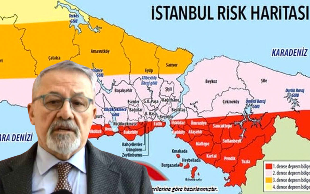 Deprem uzmanı Prof. Naci Görür olası İstanbul depremi için yer ve büyüklük verdi