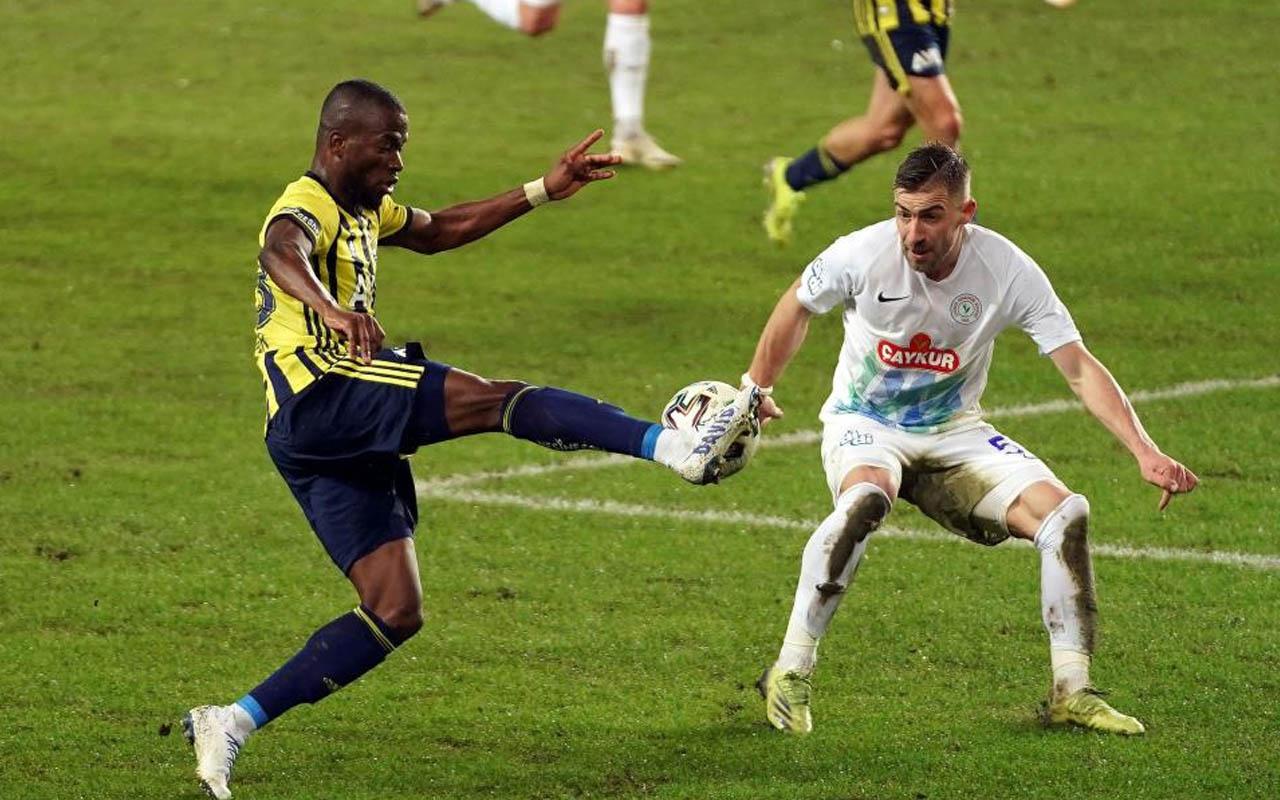 Fenerbahçe-Çaykur Rizespor Süper Lig maçı özet ve golleri