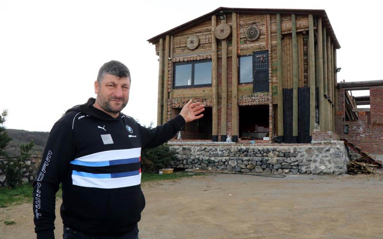 Samsun'da 5 milyon TL teklif ettiler o vermedi! 'Kale' yaptı koronadan korunuyor