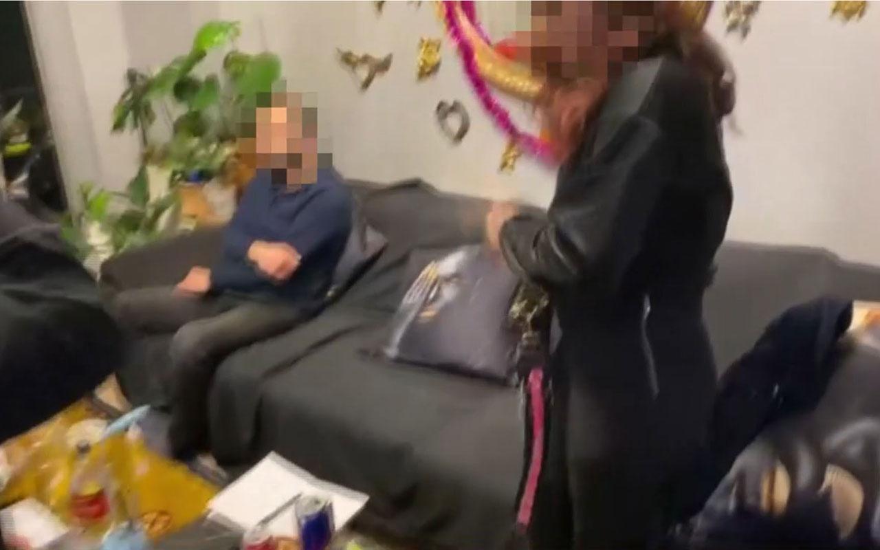 İstanbul'da villaya şok baskın! Kadınları kullanıp uyuşturucu partisi düzenliyorlar