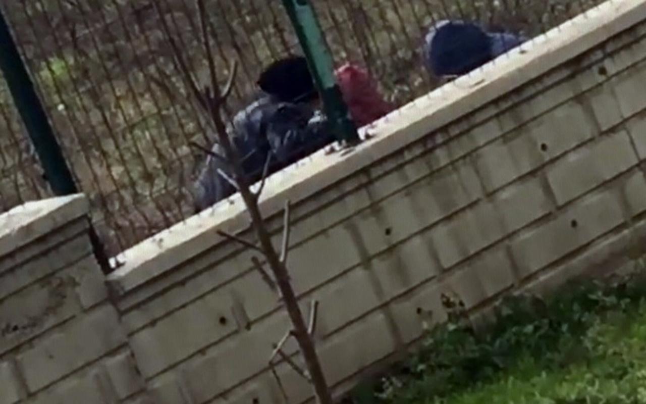 Sakarya'da 3 çocuk uyuşturucu kullanırken görüntülendi