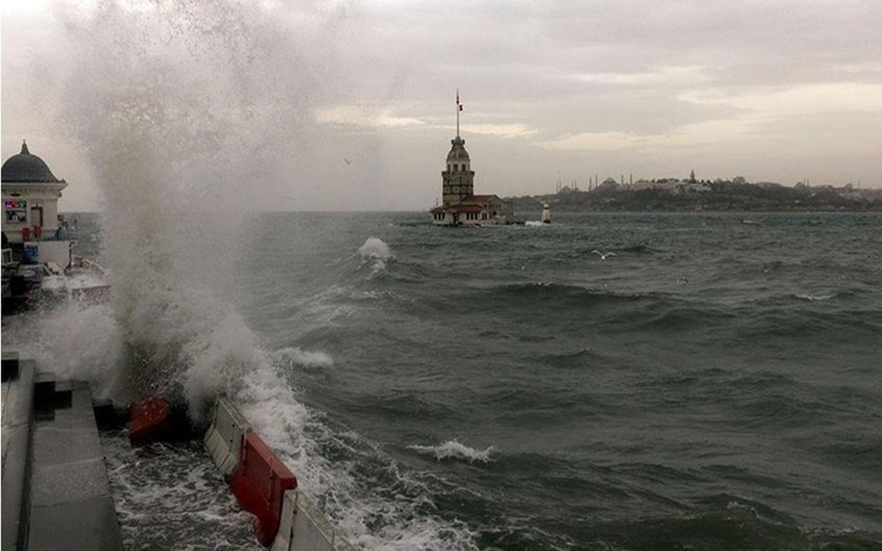 Meteoroloji uyardı! Marmara için 'fırtına' uyarısı