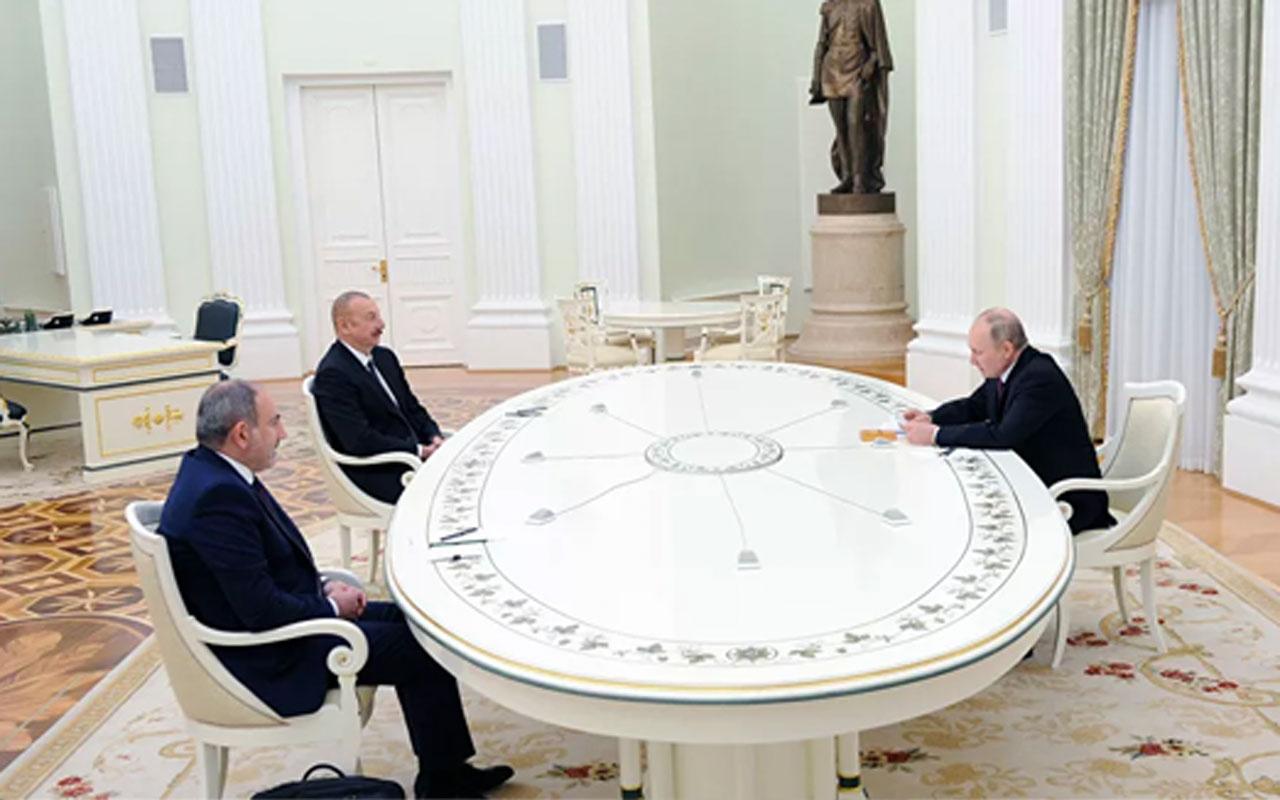 Dağlık Karabağ'la ilgili üçlü çalışma grubu ilk toplantısını Moskova'da yaptı