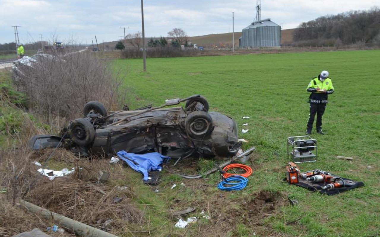Tekirdağ'da feci kaza! Kamyonet ve otomobil çarpıştı: Ölüler ve yaralılar var