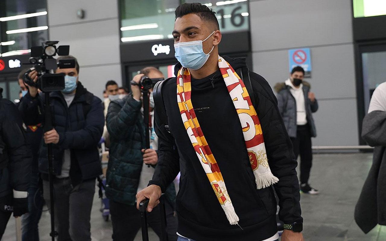 Galatasaray'ın yeni transferi Mostafa Mohamed, İstanbul'da