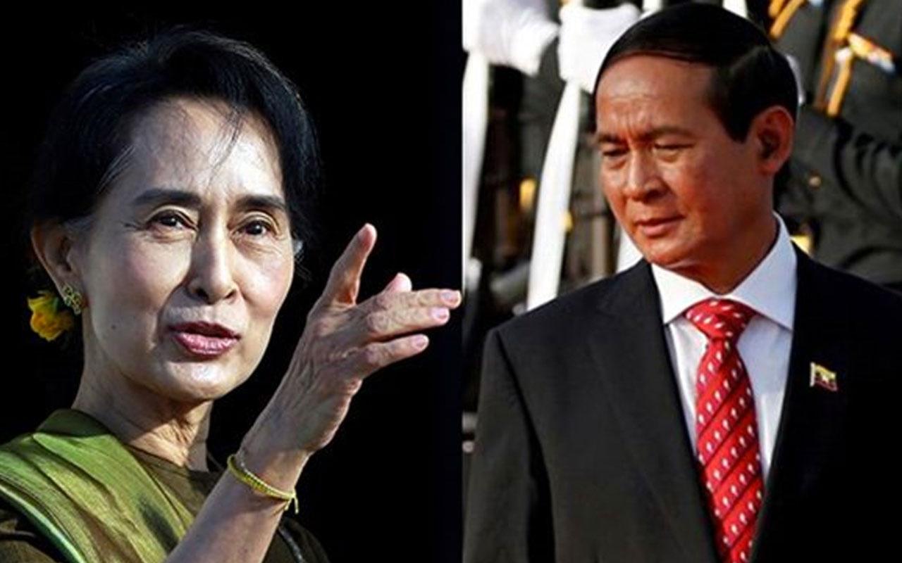 Myanmar'da darbe: Ülke lideri ve Devlet Başkanı gözaltında