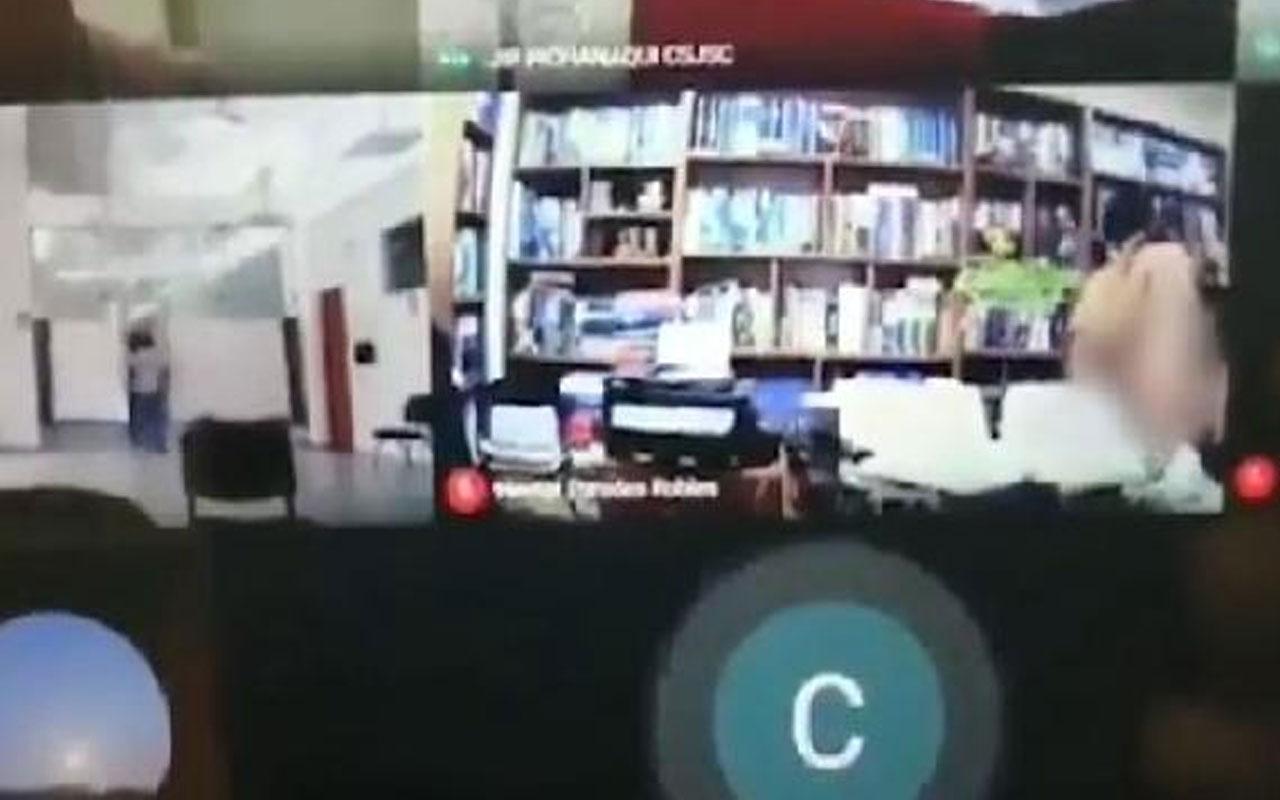 Peru'da skandal! Kamerayı açık unutan avukat müvekkiliyle ilişkiye girerken yakalandı