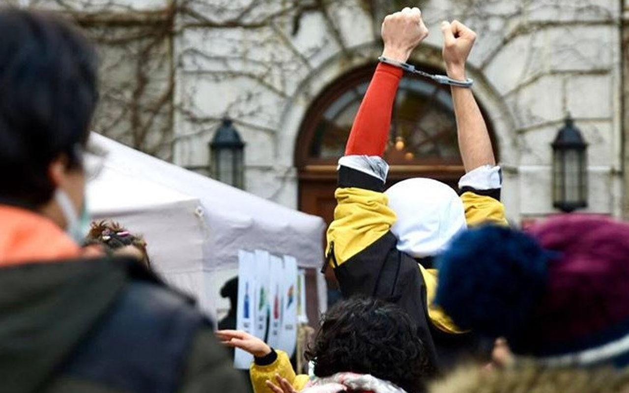 Boğaziçi Üniversitesi öğrencileri tutuklanırken suç vasfı değiştirildi