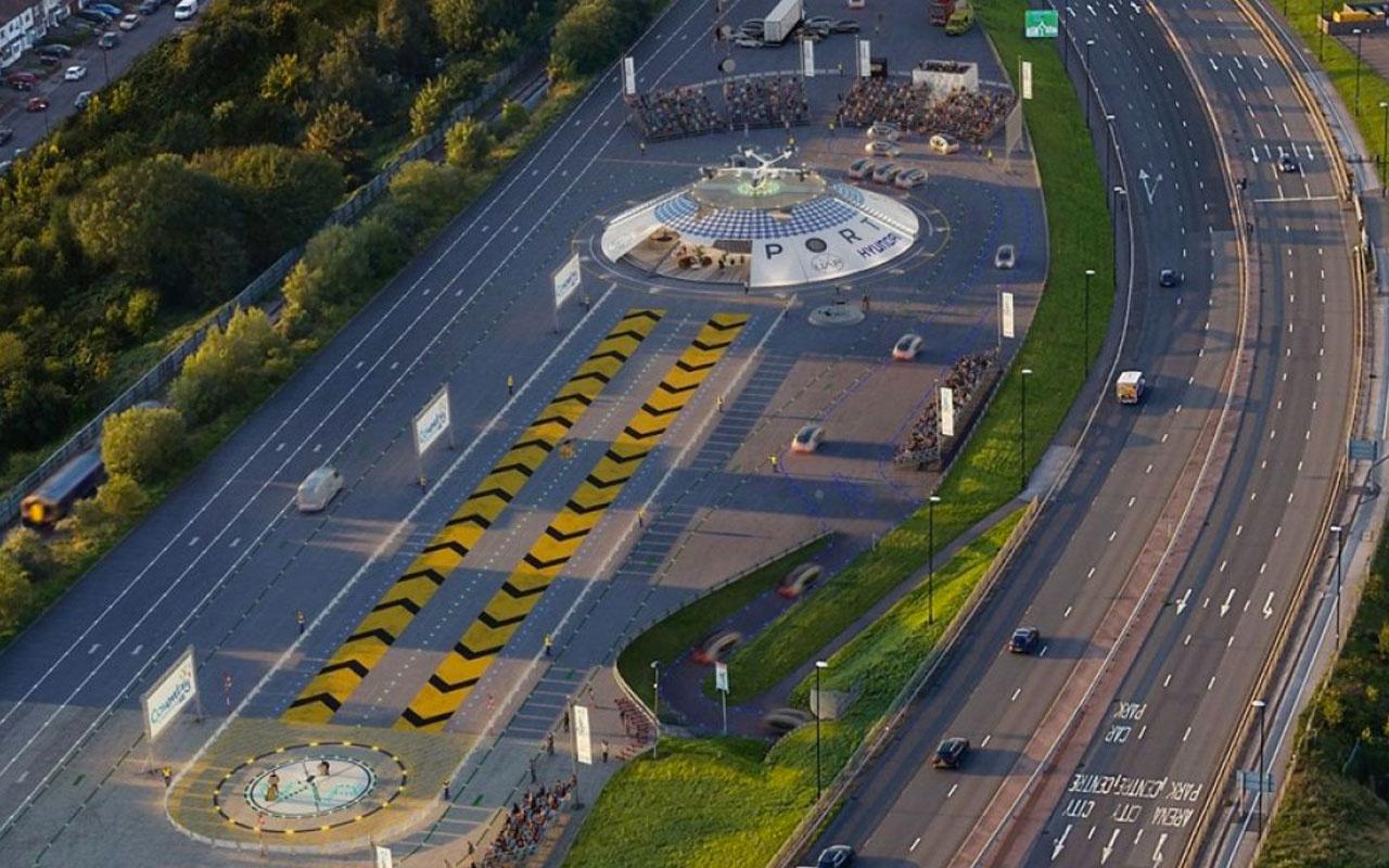 Dünyanın ilk uçan otomobil havaalanı İngiltere'ye kuruluyor