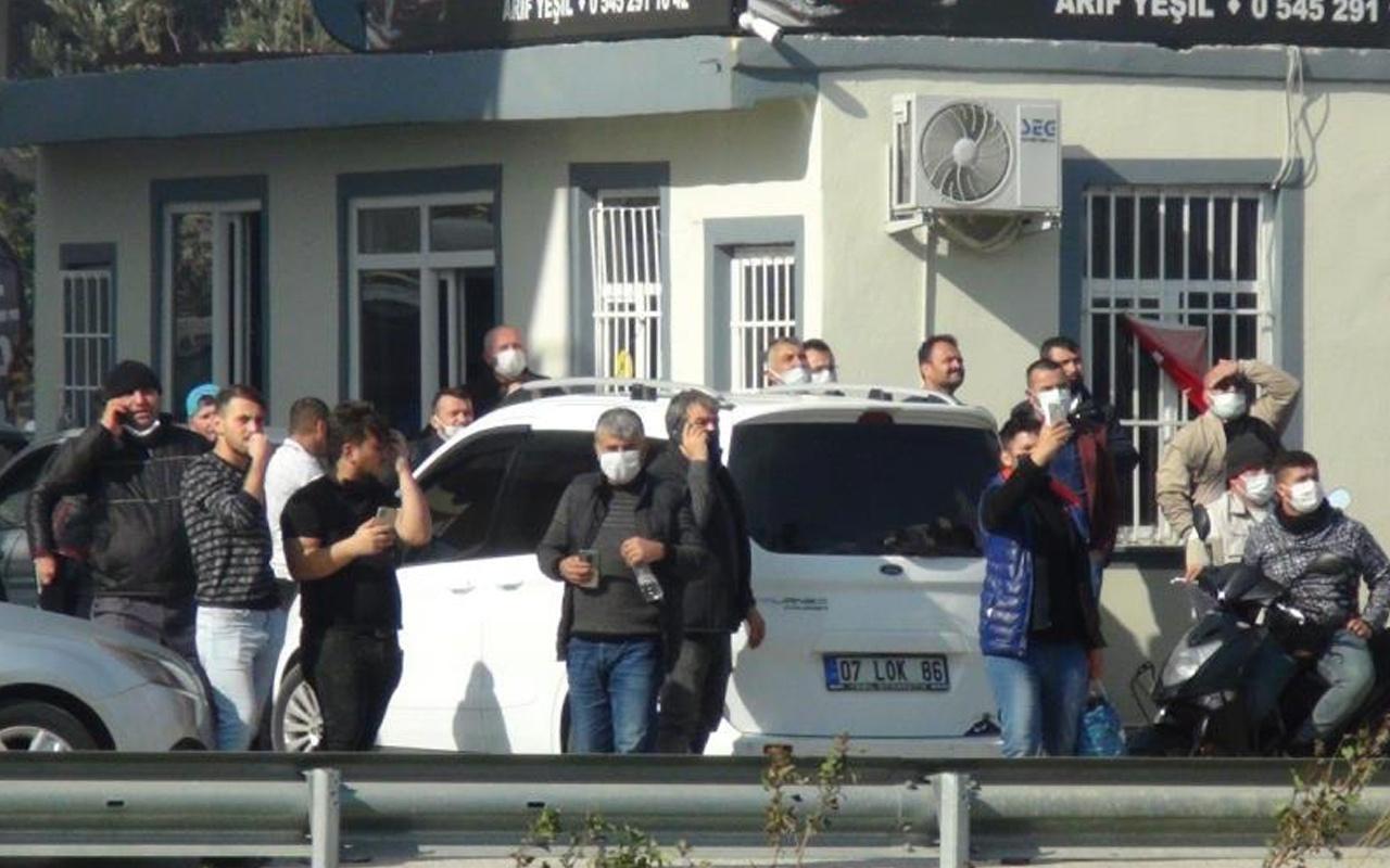 Antalya'da gören telefona sarıldı! Canlı yayın yarışına girdiler