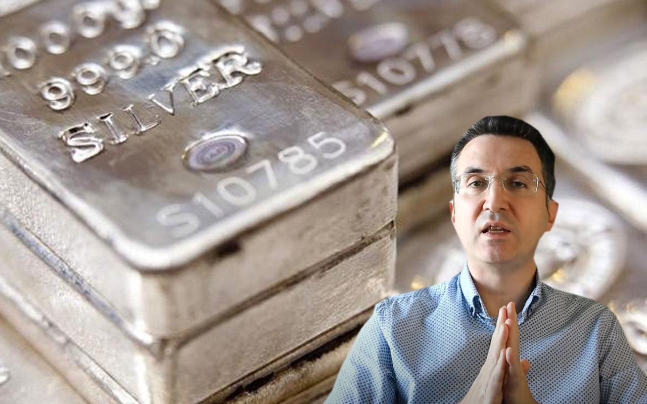Ne altın ne dolar gümüş fiyatları çıldırdı Teknik uzman Şatıroğlu duyurdu: 40'a gidebilir