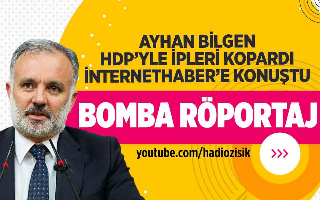 Kars Eski Belediye Başkanı Ayhan Bilgen'den bomba röportaj!