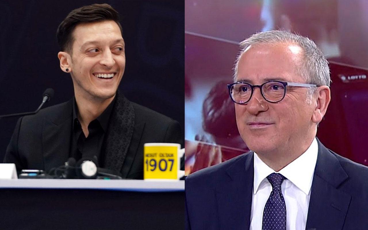 Fatih Altaylı'dan İrfan Can Kahveci üzerinden Mesut Özil'e sahtekar göndermesi