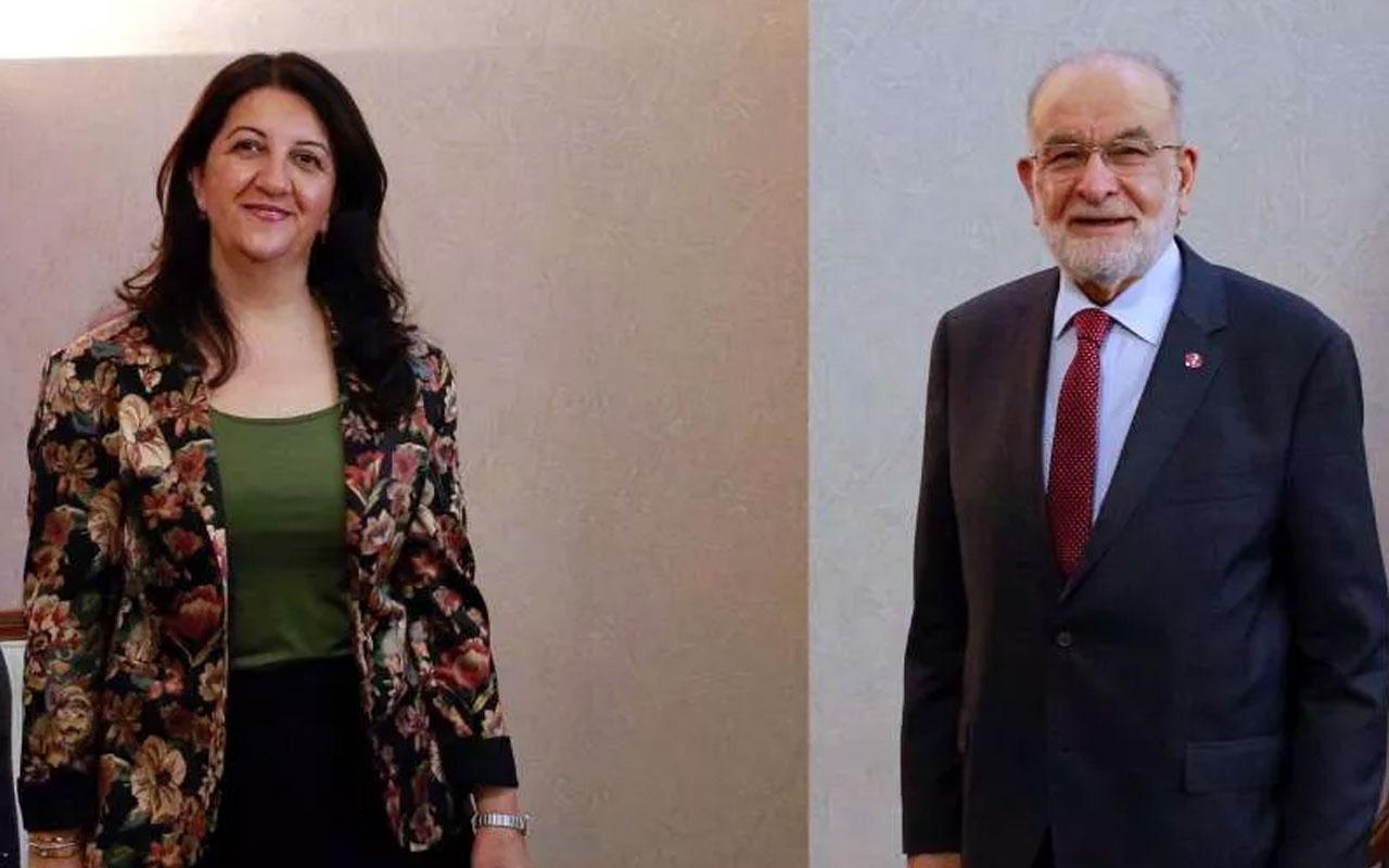 Saadet Partisi'nden HDP'nin ziyaretine ilişkin açıklama Milletimiz için yaptık